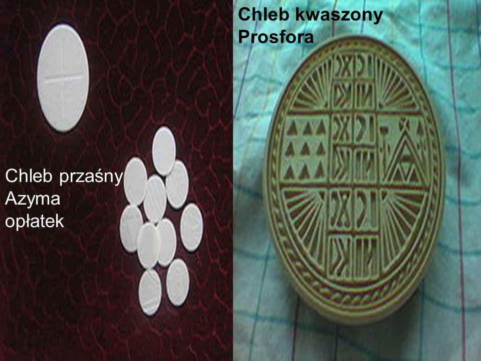 Chleb kwaszony Prosfora Chleb przaśny Azyma opłatek