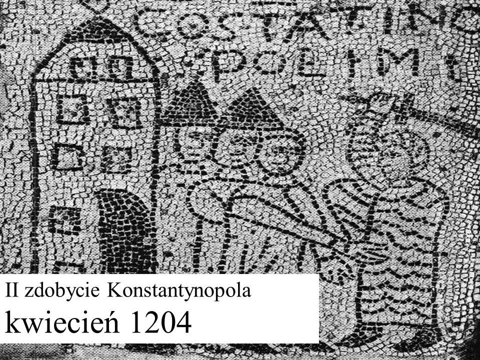II zdobycie Konstantynopola