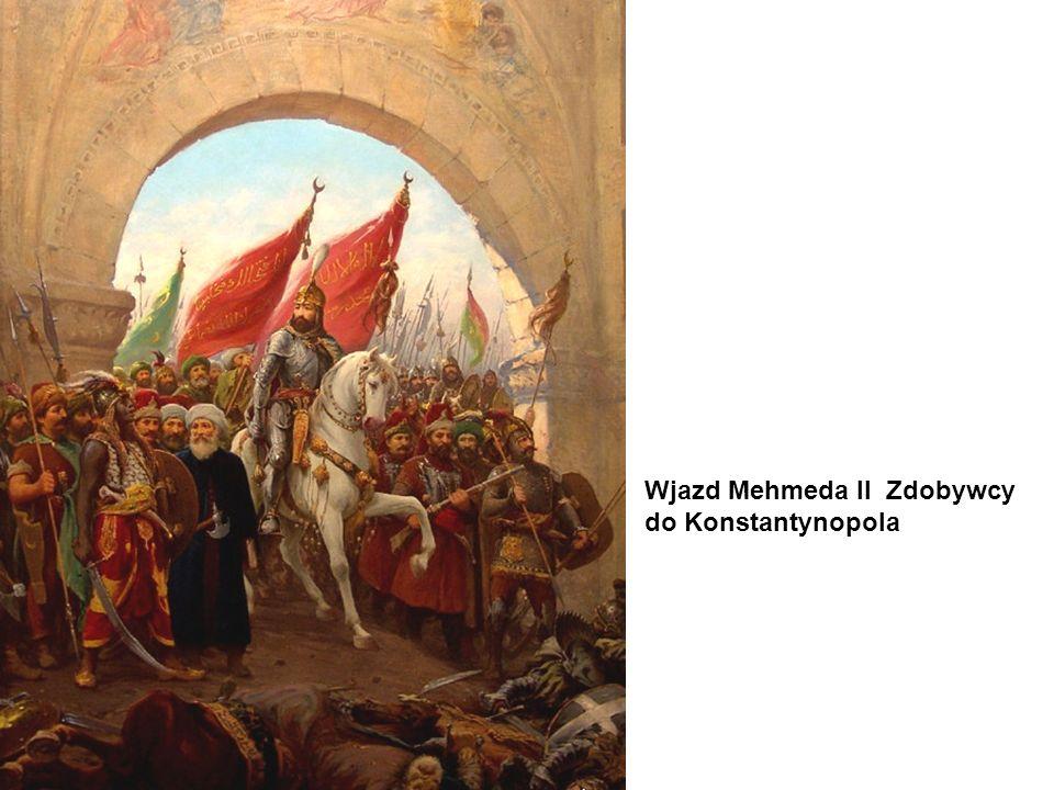 Wjazd Mehmeda II Zdobywcy