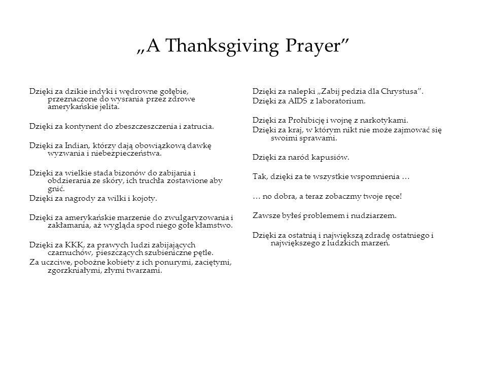 """A Thanksgiving Prayer"