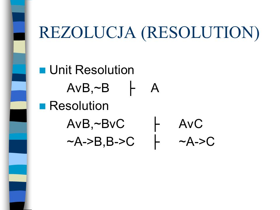 REZOLUCJA (RESOLUTION)