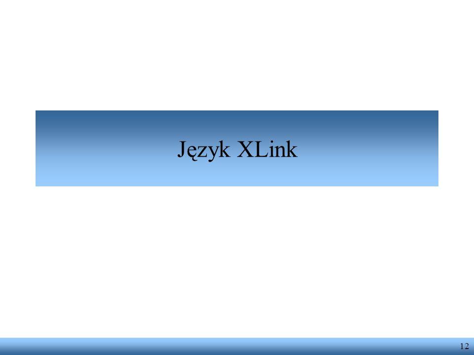 Język XLink 12