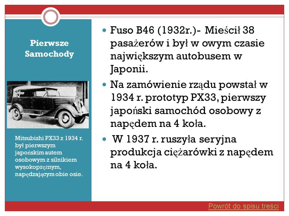 W 1937 r. ruszyła seryjna produkcja ciężarówki z napędem na 4 koła.