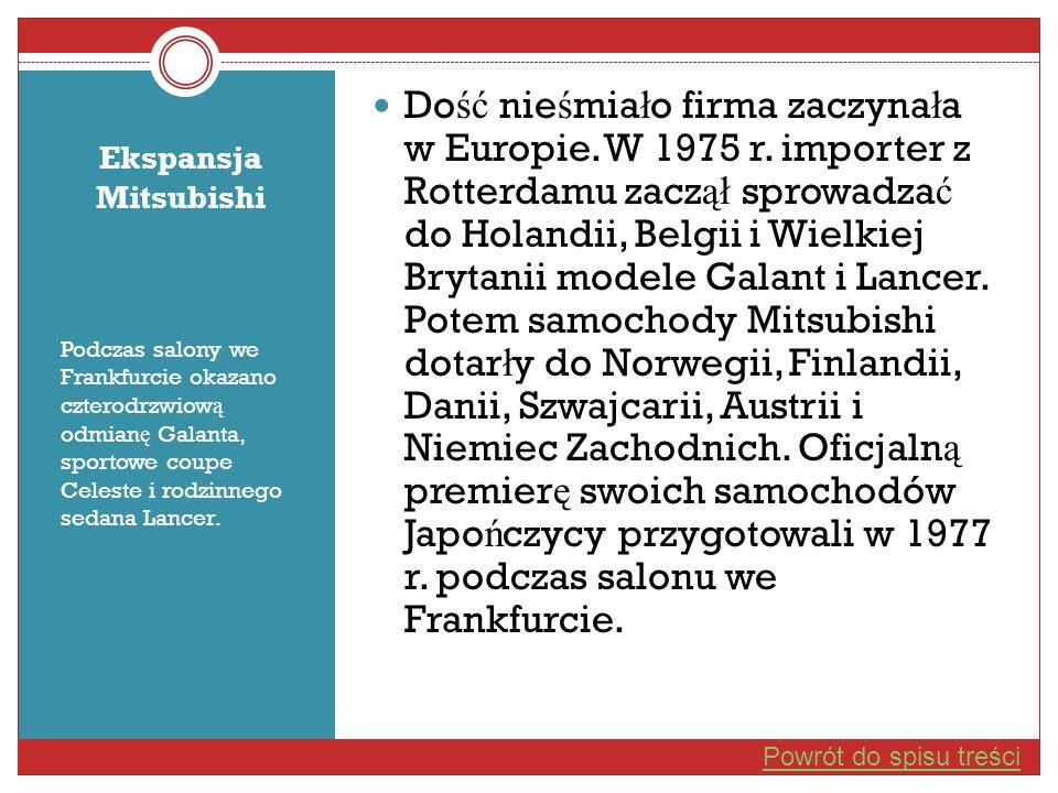 Dość nieśmiało firma zaczynała w Europie. W 1975 r