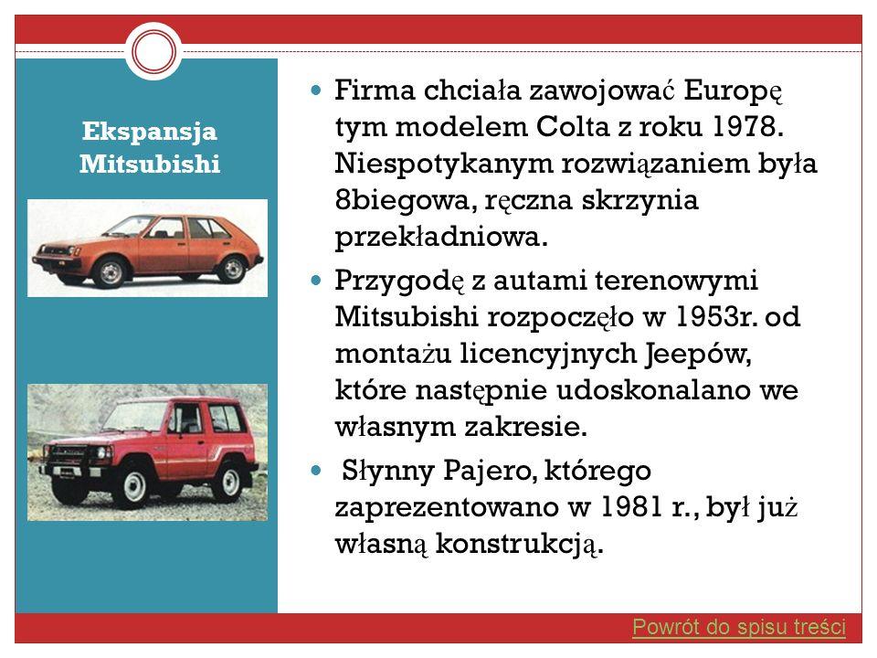 Firma chciała zawojować Europę tym modelem Colta z roku 1978