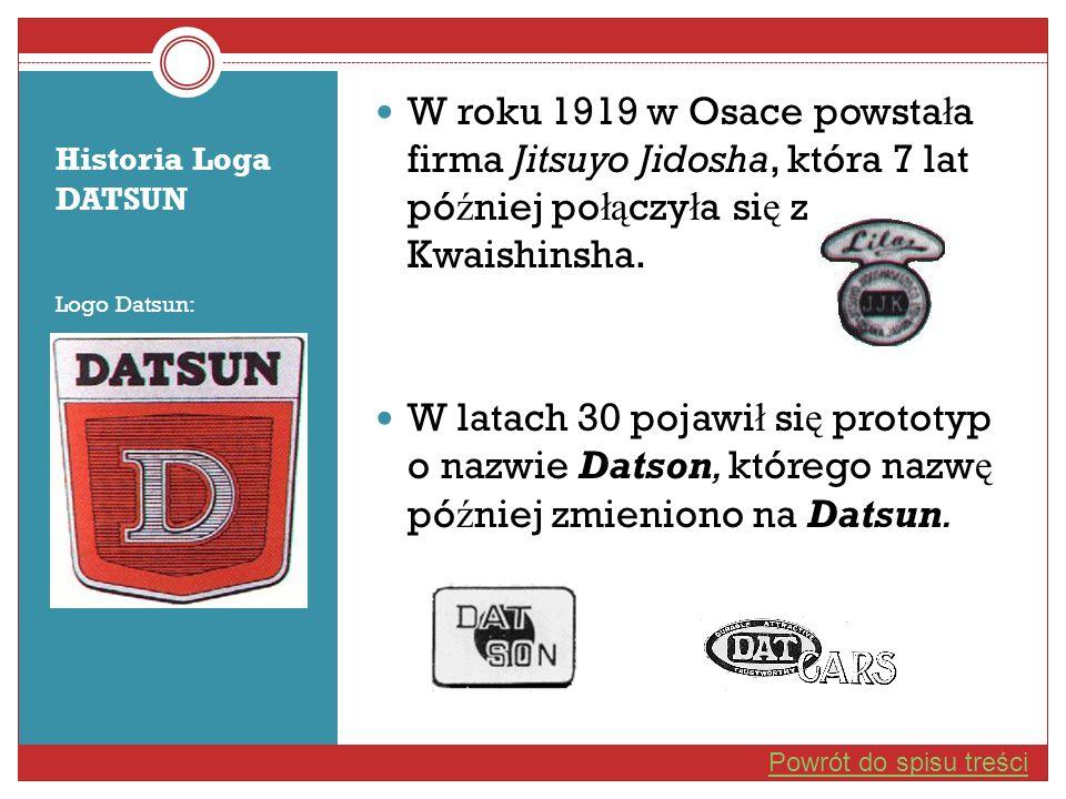 W roku 1919 w Osace powstała firma Jitsuyo Jidosha, która 7 lat później połączyła się z Kwaishinsha.