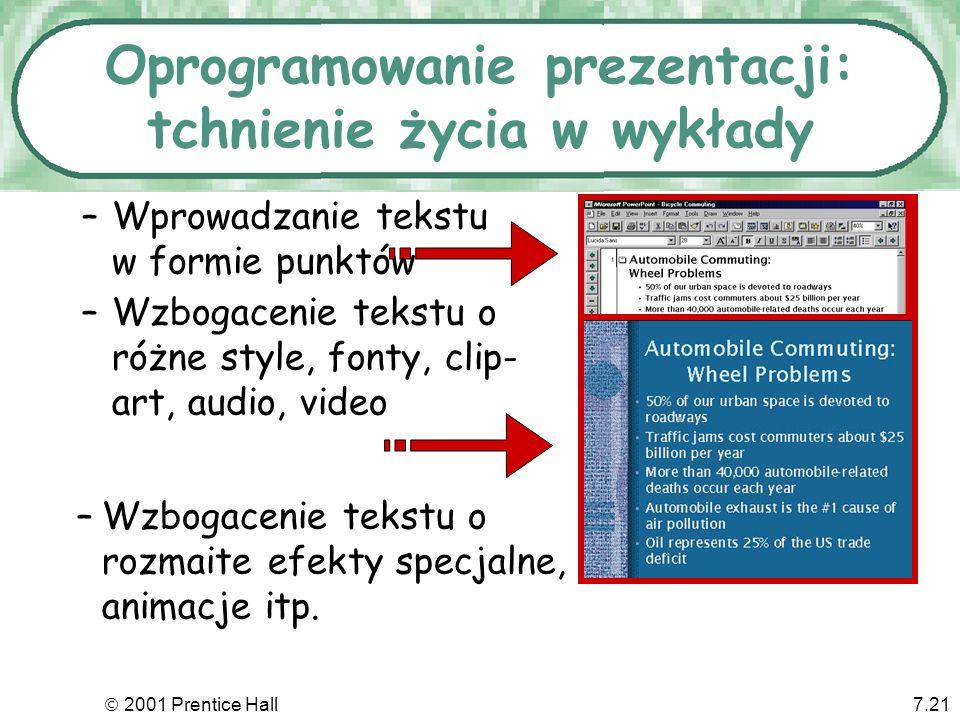 Oprogramowanie prezentacji: tchnienie życia w wykłady
