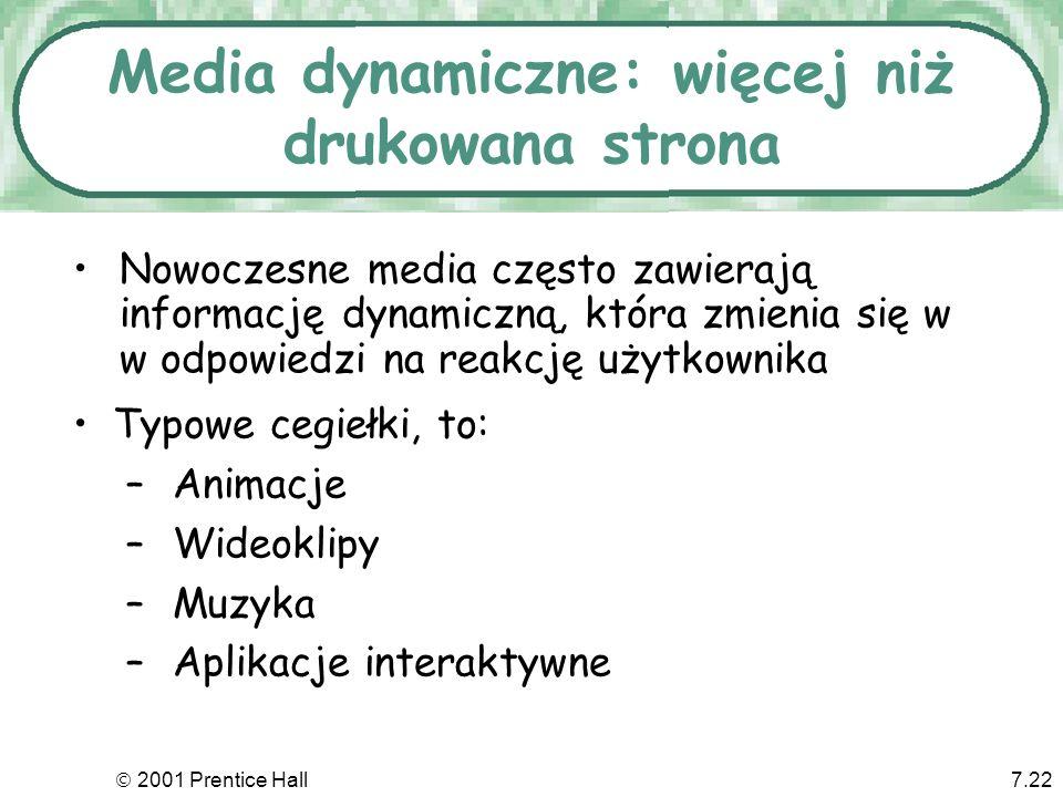 Media dynamiczne: więcej niż drukowana strona