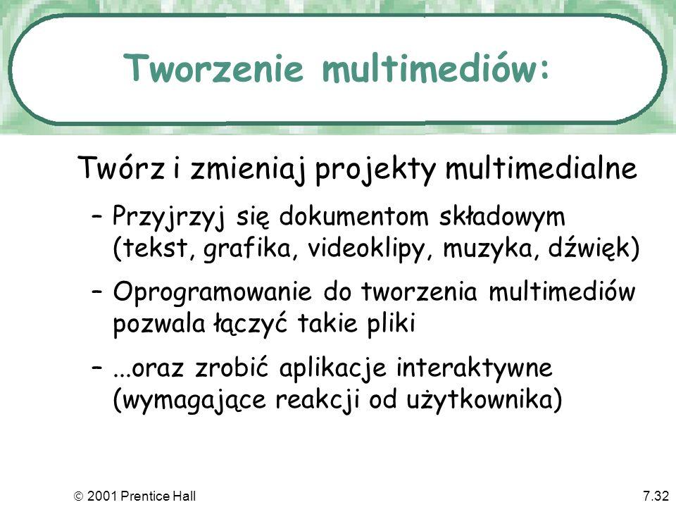 Tworzenie multimediów: