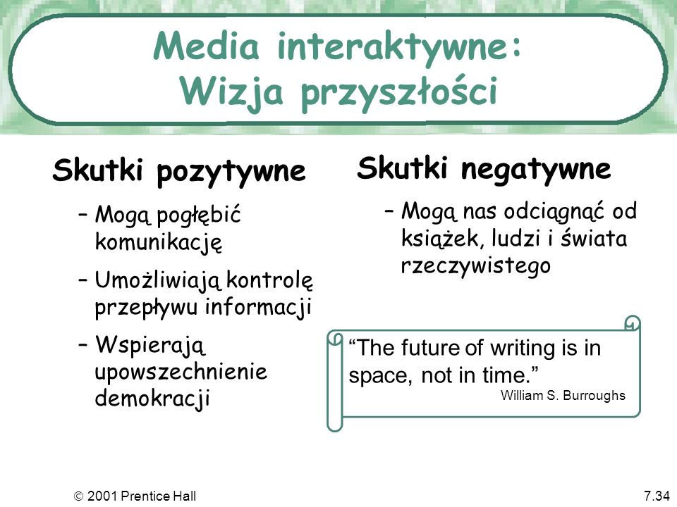 Media interaktywne: Wizja przyszłości