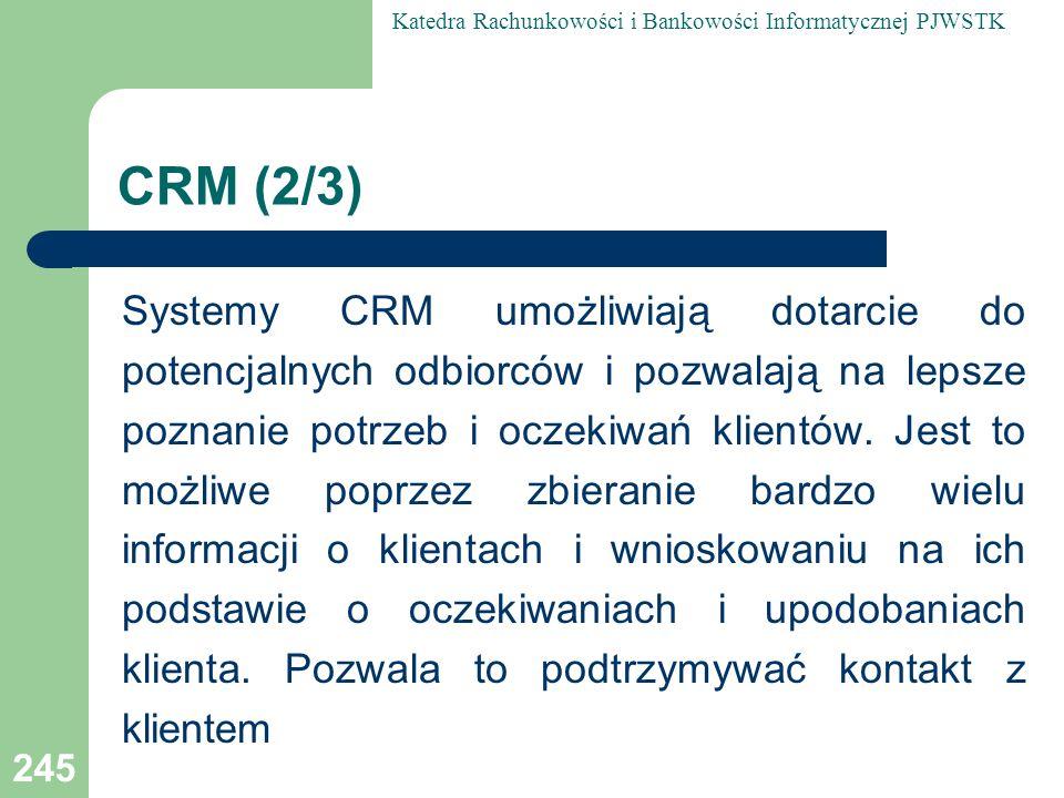 CRM (2/3)