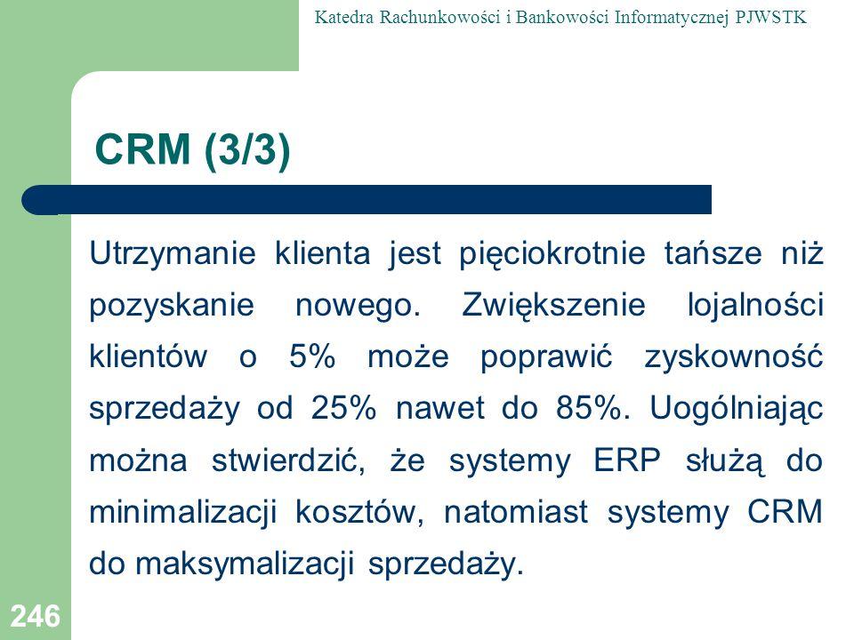 CRM (3/3)