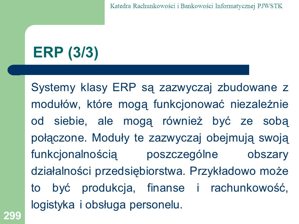 ERP (3/3)