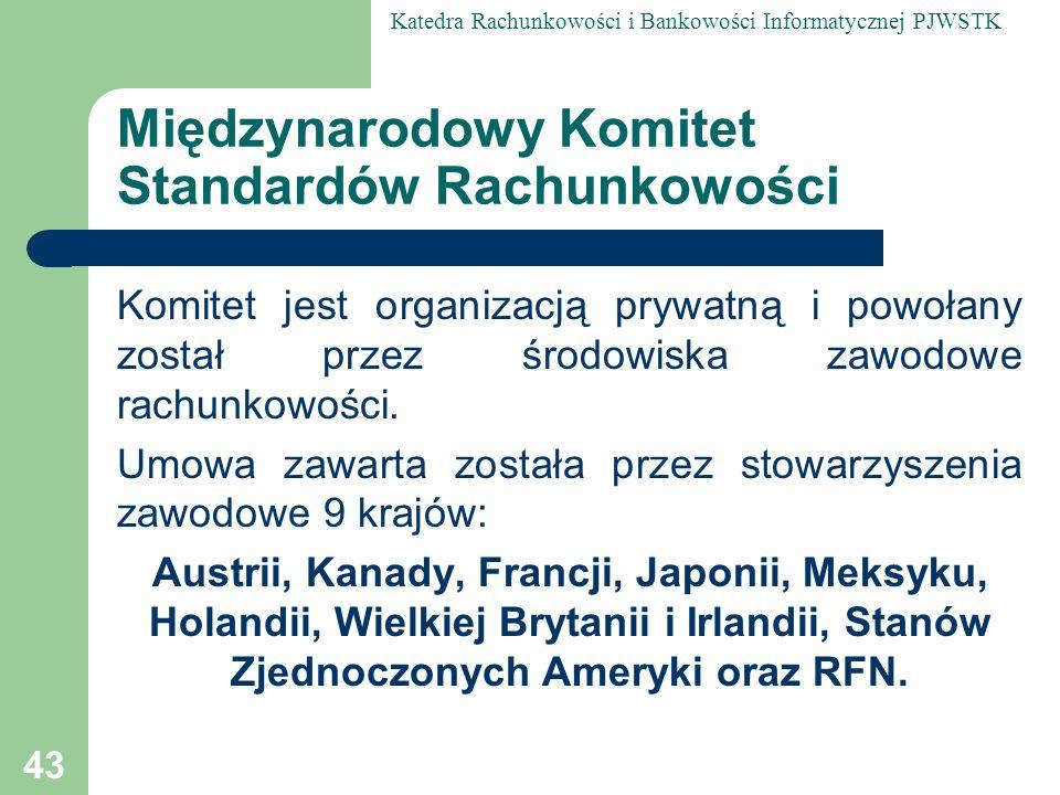 Międzynarodowy Komitet Standardów Rachunkowości
