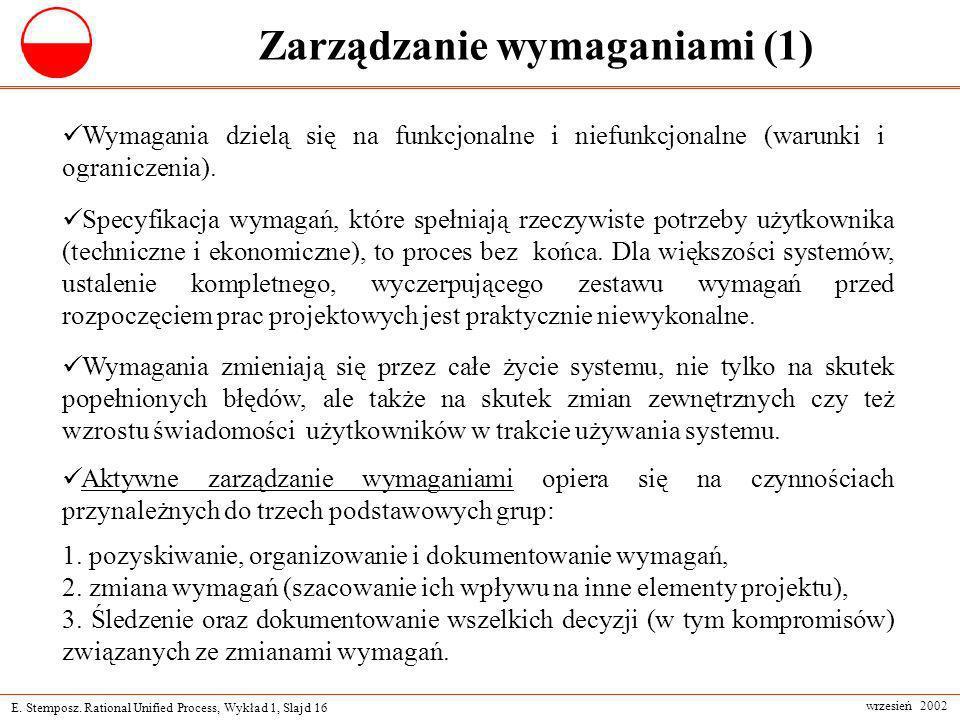 Zarządzanie wymaganiami (1)
