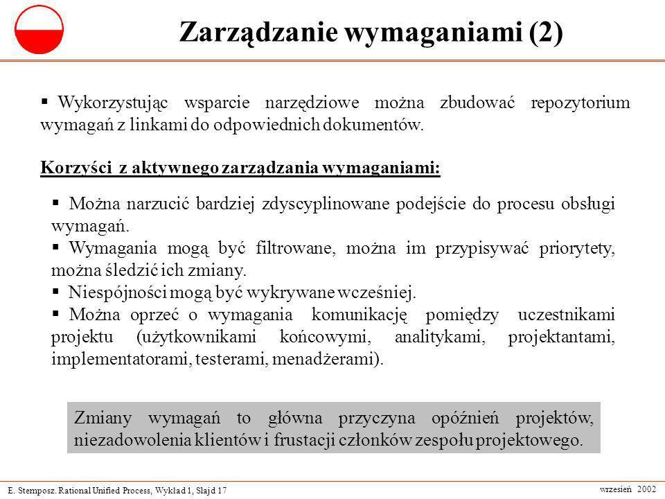 Zarządzanie wymaganiami (2)