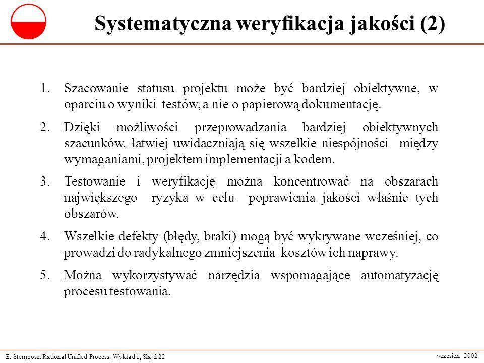 Systematyczna weryfikacja jakości (2)