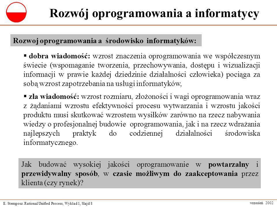 Rozwój oprogramowania a informatycy