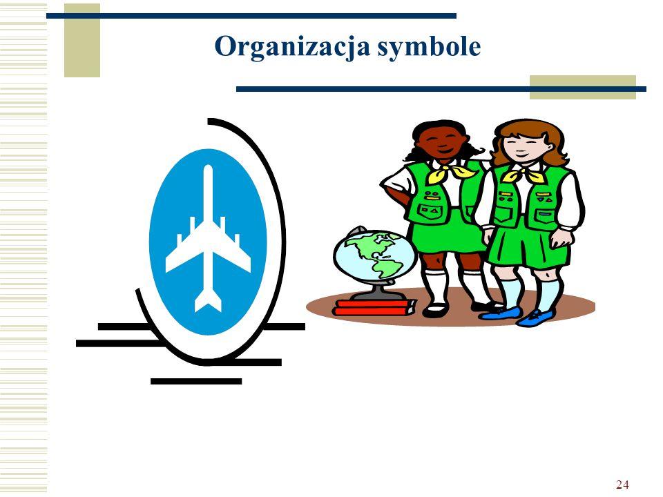 Organizacja symbole