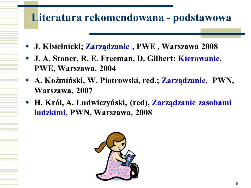 Literatura rekomendowana - podstawowa