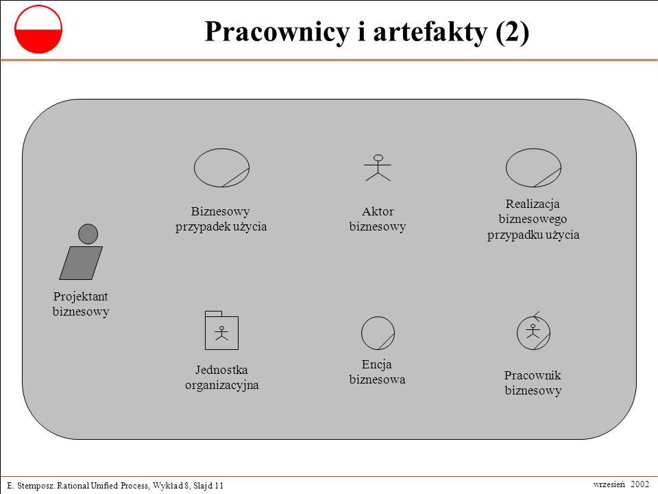 Pracownicy i artefakty (2)