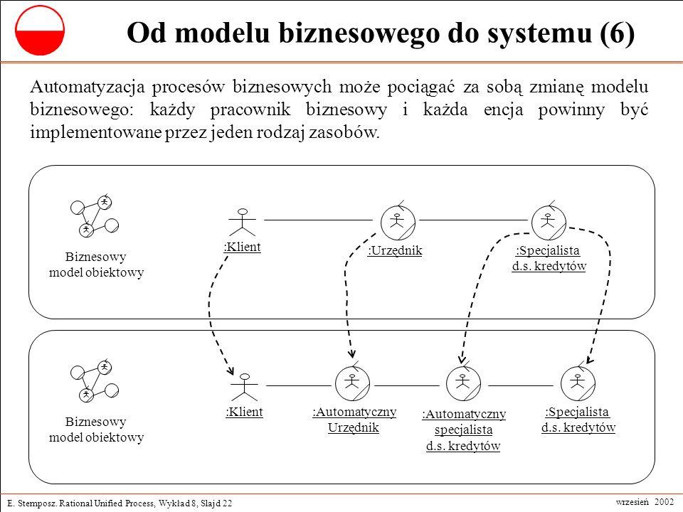 Od modelu biznesowego do systemu (6)