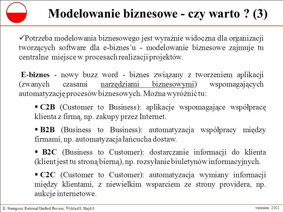Modelowanie biznesowe - czy warto (3)
