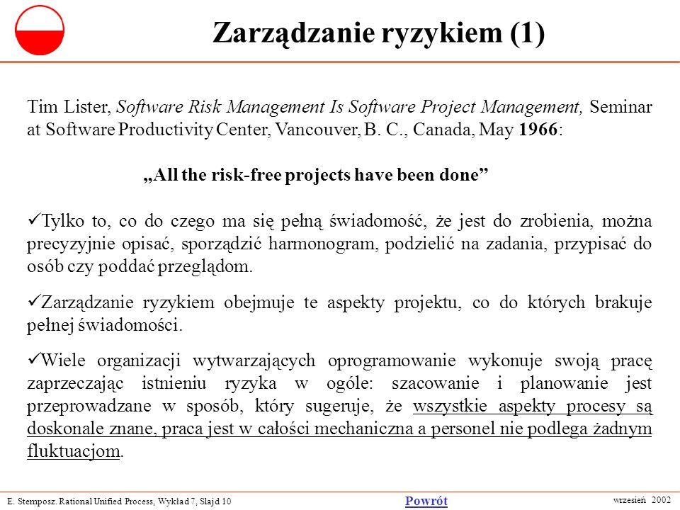 Zarządzanie ryzykiem (1)