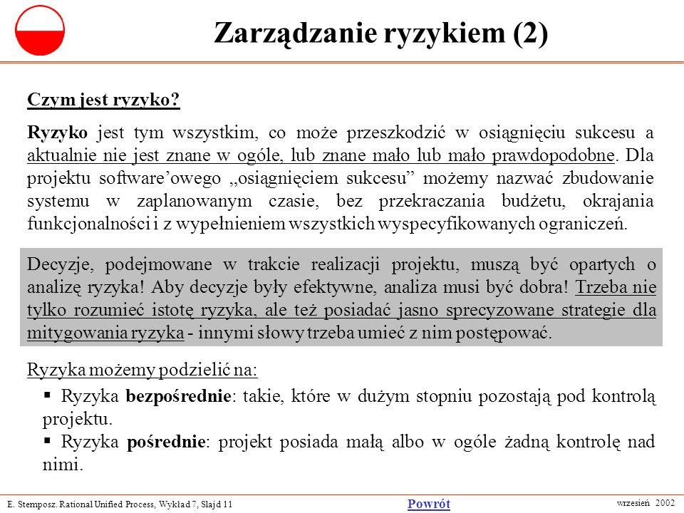 Zarządzanie ryzykiem (2)