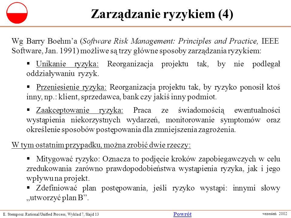 Zarządzanie ryzykiem (4)