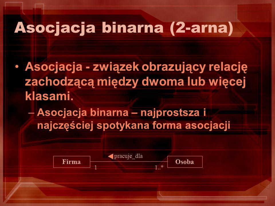 Asocjacja binarna (2-arna)