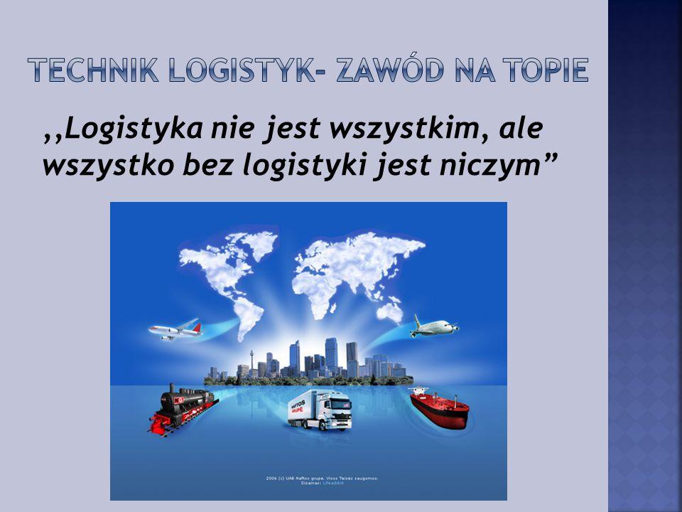 Technik logistyk- zawód na topie