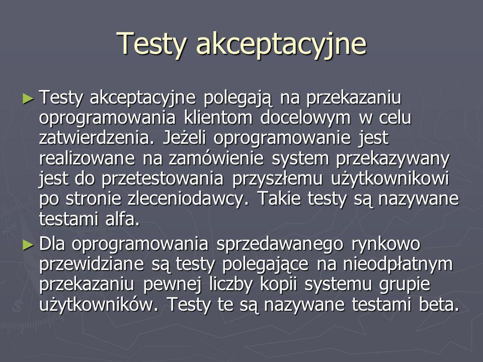 Testy akceptacyjne