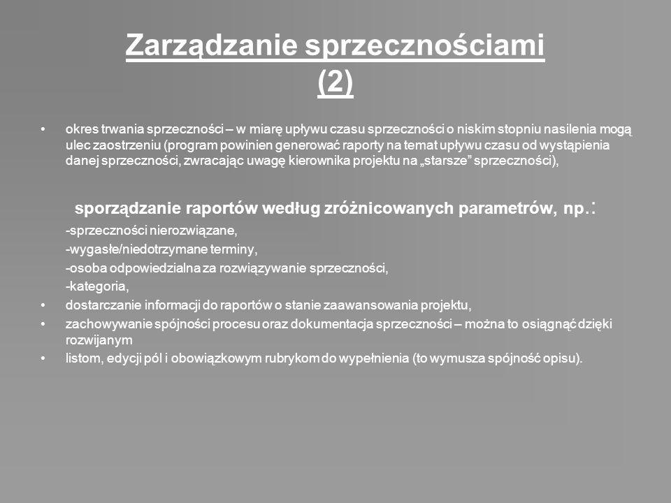 Zarządzanie sprzecznościami (2)
