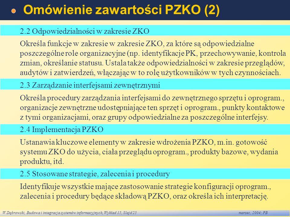 Omówienie zawartości PZKO (2)