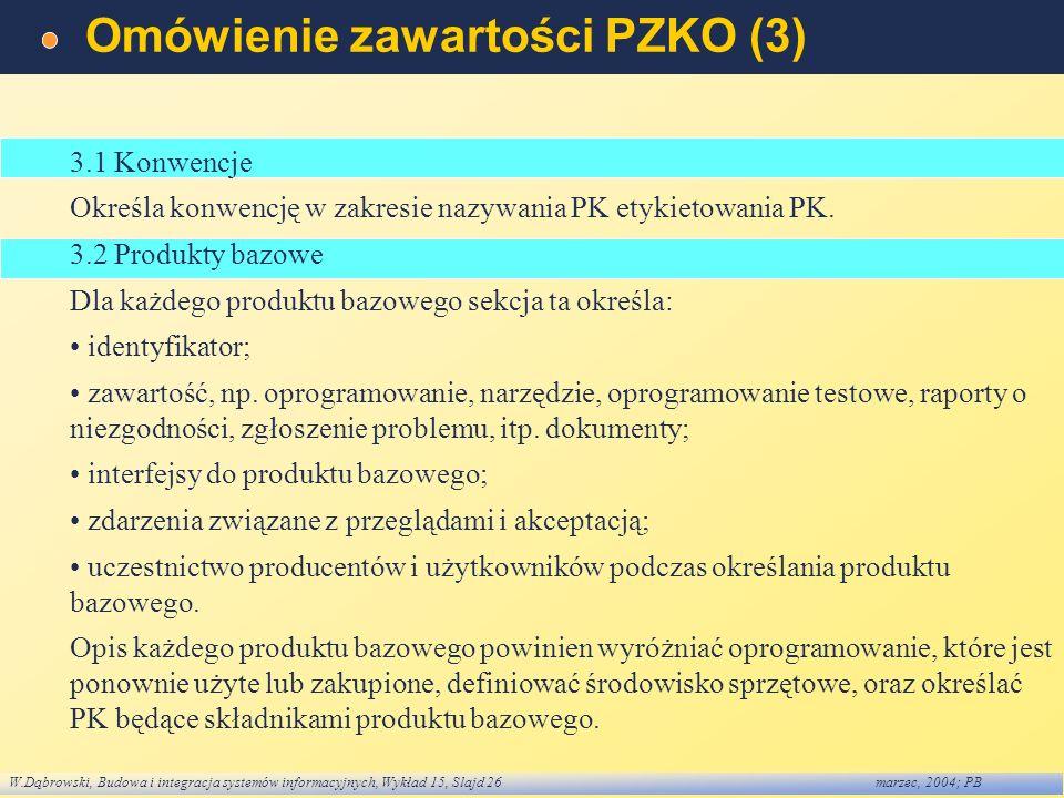 Omówienie zawartości PZKO (3)