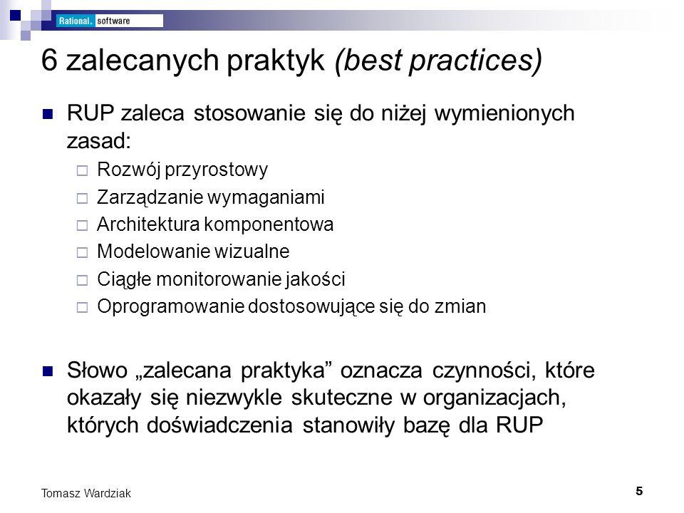 6 zalecanych praktyk (best practices)
