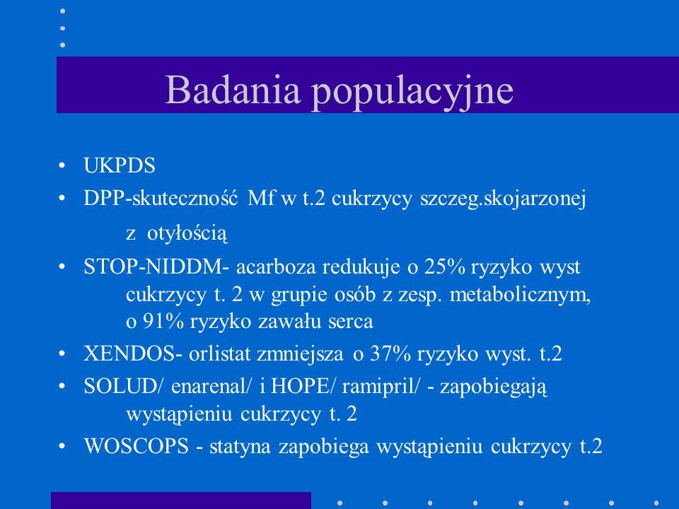 Badania populacyjne UKPDS