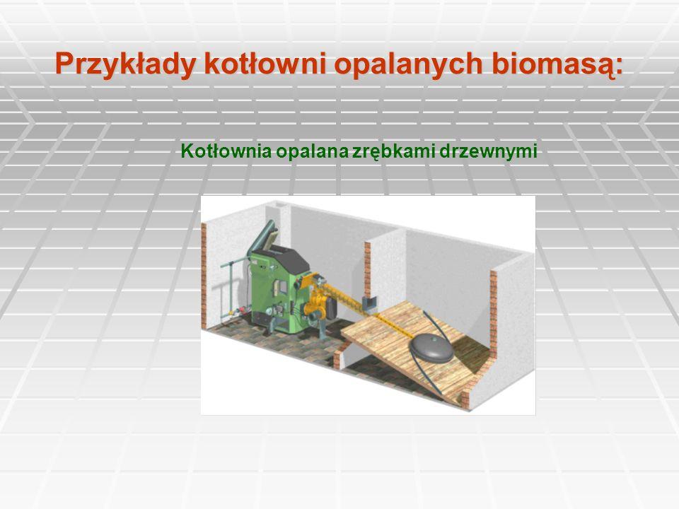 Przykłady kotłowni opalanych biomasą: