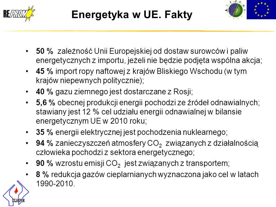 Energetyka w UE. Fakty