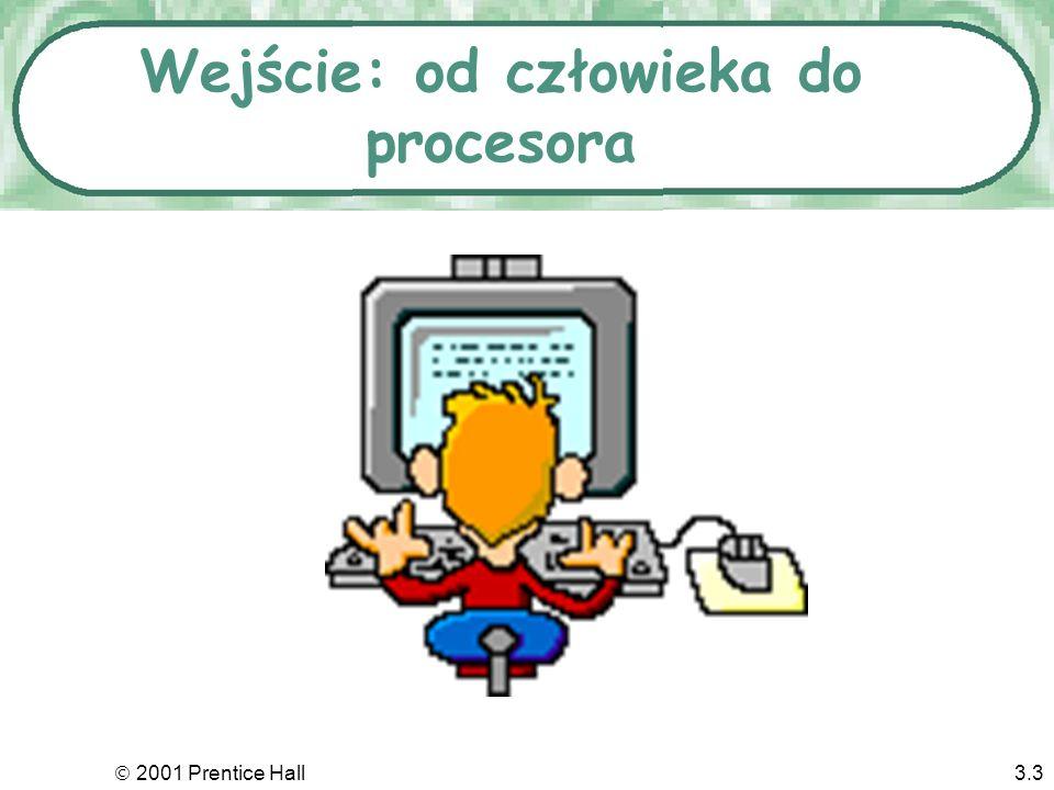 Wejście: od człowieka do procesora