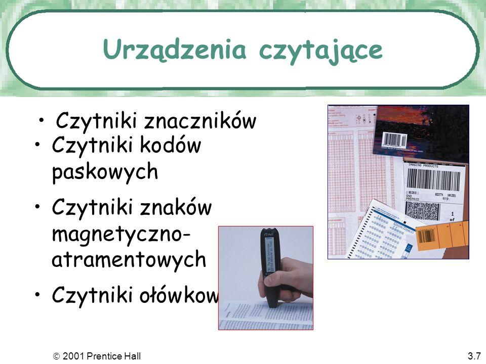 Urządzenia czytające Czytniki znaczników Czytniki kodów paskowych