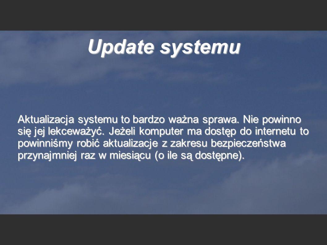 Update systemu