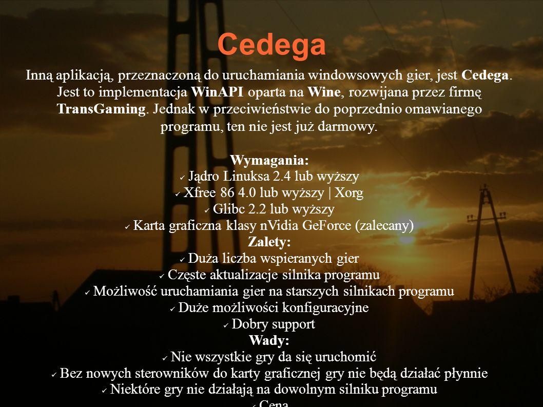 Cedega