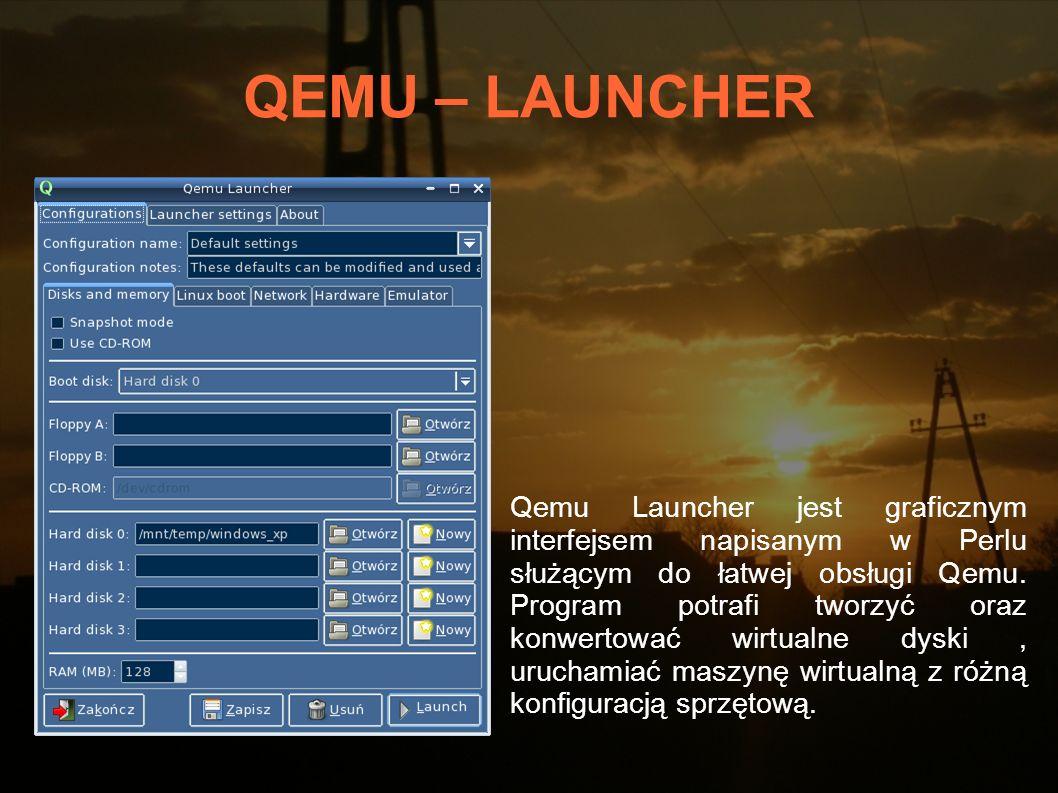 QEMU – LAUNCHER