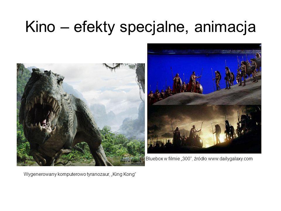 Kino – efekty specjalne, animacja