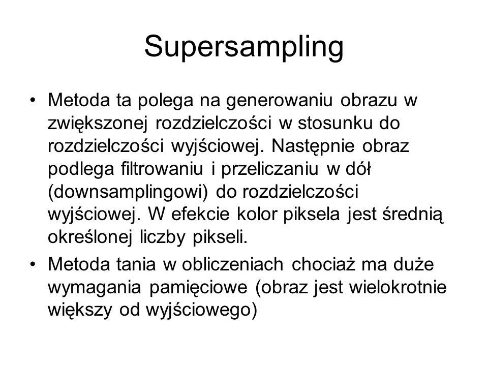 Supersampling