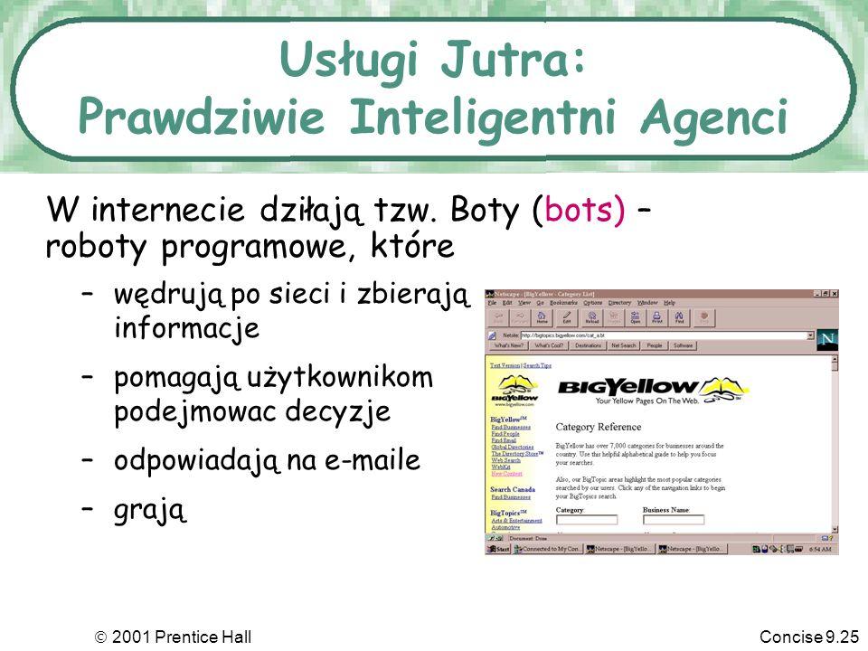 Usługi Jutra: Prawdziwie Inteligentni Agenci