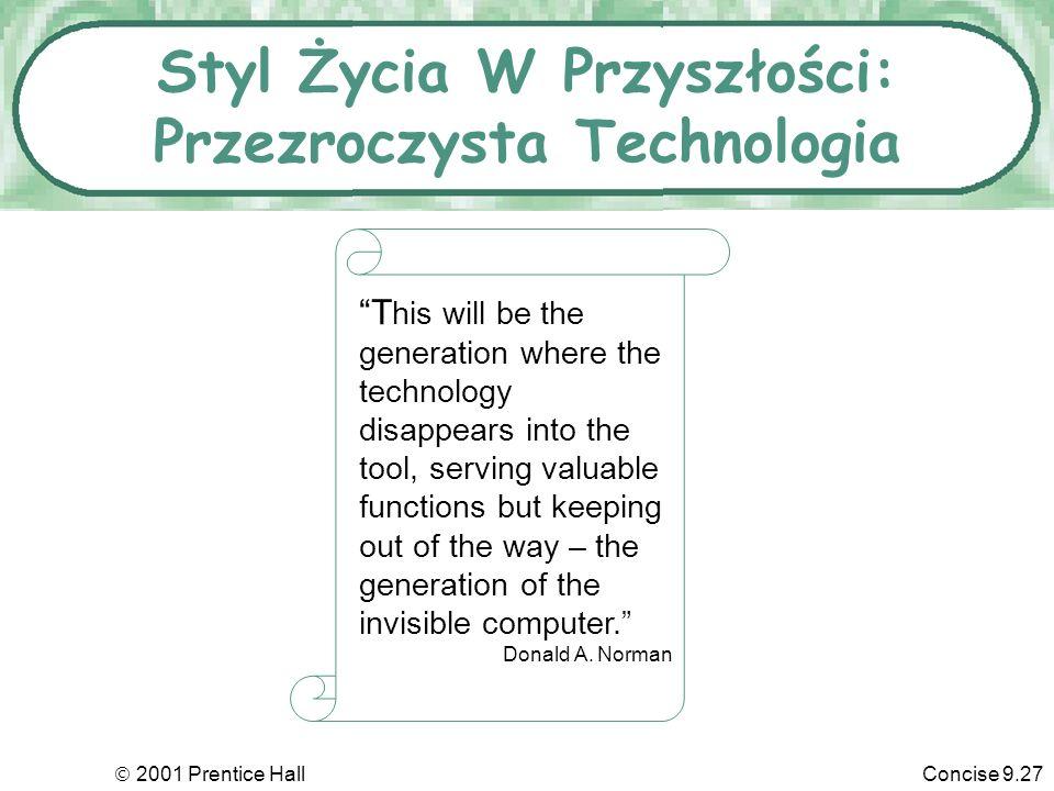 Styl Życia W Przyszłości: Przezroczysta Technologia