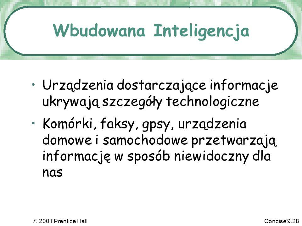 Wbudowana Inteligencja